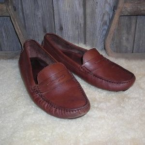 Mercanti Fiorentini penny loafers driving moccasin